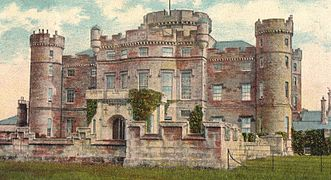 eglinton castle 1900